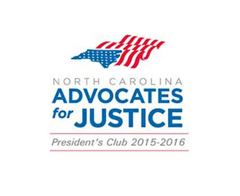 William K. Goldfarb North Carolina Advocates for Justice President's Club
