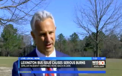 Lexington Bus Issue Causes Serious Burns