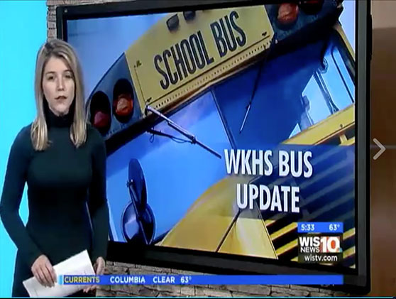 Lugoff SC school bus burn update with WKG-Law, William Goldfarb
